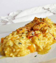 Risotto alla zucca- rice and pumpkin