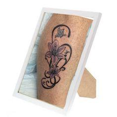 Sierlijke been tattoo