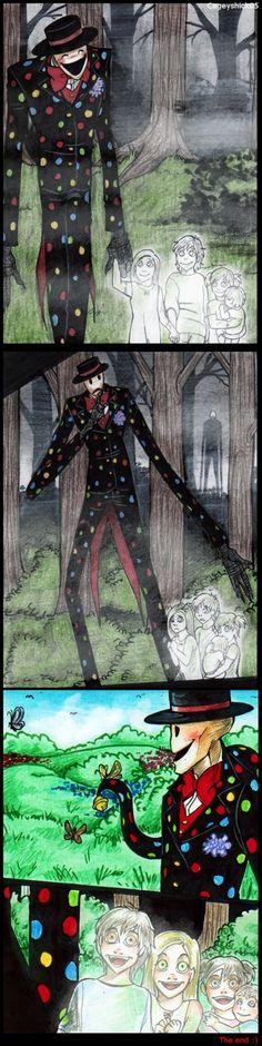Silent Splendorman Comic -END- by Cageyshick05 on DeviantArt