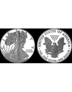Originally believed exclusive to the 2012 American Eagle San Francisco Two-Coin Silver Proof set, the regular Proof 2012-S American Eagle silver dollar is also to be included in the upcoming 2012 Making American History Coin and Currency set to be offered by the U.S. Mint beginning Aug. 7.