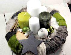 Adventskranz,Weihnachtsdeko,Kerzen,Weihnachten