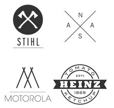 when hipster does branding...like the Heinz style logo