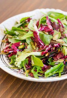 Lemony Green Salad with Radicchio &…