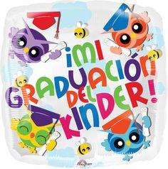 """Graduación Del Kinder 18"""" Globo Met Graduacio, COD: 3132202, UPC Code: 3132202, Venta En Linea, Mayoreo Globos, Metálicos/Mylar/Metalizados, Graduacion, México. Teleglobos.com"""