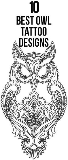 Let us have a glimpse at the top 10 owl tattoos for an idea. Hope you will surely try to have one of them inked over your skin.