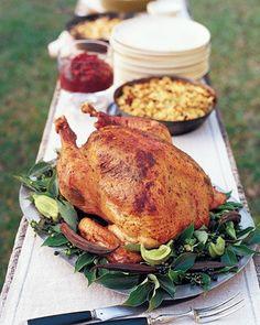 Herb-Roasted Turkey with Pan Gravy, the best turkey recipe!