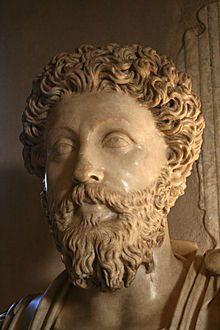 "Marcus Aurelius - Wikipedia, the free encyclopedia--yes, I would definitely invite Marcus Aurelius to dinner, if for no other reason than to ""pick his brain"" so to speak."