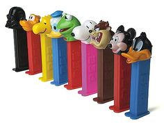 Nostalgia - Pez dispensers - Classic Toys Still have a couple! Retro Vintage, Vintage Candy, Vintage Toys, 90s Childhood, My Childhood Memories, Sweet Memories, Good Old Times, The Good Old Days, Nostalgia