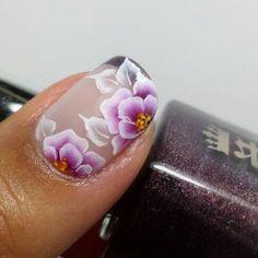 Beautiful spring nail design