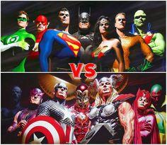 Avengers Vs. Justice League #Epic