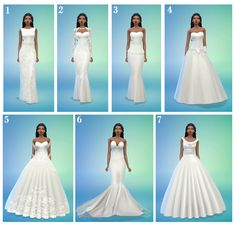 Top 5 wedding dresses? (I saw u answered the top 5... : MMFINDS