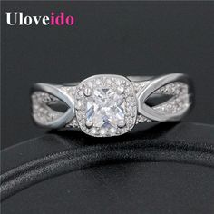 Find More Rings Information about Fashion Aliancas De Casamento Jewellery Crystal Rings for Women Charms Jewelry Vintage Ring Bague Designer Aneis Uloveido WX009,High Quality ring flashlight,China ring magic Suppliers, Cheap ring from Uloveido Official Store on Aliexpress.com