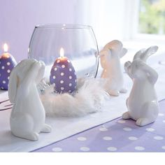 Easter DECORATIVE RABBIT SET