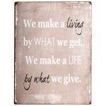 Cedule We make a living ...