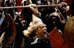 """Klaus Kinski """"Cobra Verde"""" 1987 irected by Werner Herzog"""