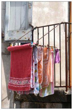 Hanging laundry www.sheilablanchette.wordpress.com