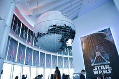 「スター・ウォーズ展」巨大デス・スターがお出迎え!Star Wars Exhibition opens 4/29, Roppongi, Tokyo