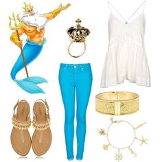 How to Dress like Characters from The Little Mermaid. These are amazing!