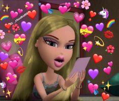 Ideas For Memes Heart Bratz Cartoon Edits, Cartoon Memes, Cartoon Icons, Brat Doll, Bratz Girls, Heart Meme, Funny Troll, Cartoon Profile Pictures, Emoji Pictures