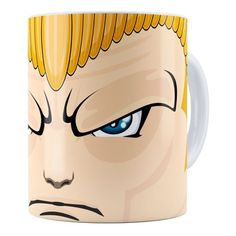 Caneca Street Fighter Guile