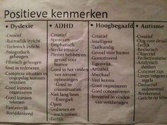 positieve kenmerken voor leerlingen met.....? click on the image to enlarge