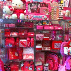 So much hello kitty:)