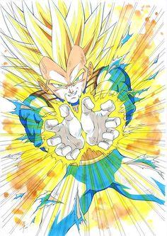 Dragon Ball Z, Dragon Z, Dragon Ball Image, Art Gundam, Dbz Drawings, Gogeta And Vegito, Manga Dragon, Girls Anime, Z Arts