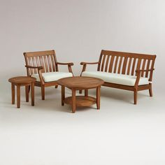 One of my favorite discoveries at WorldMarket.com: St. Martin Outdoor Occasional Collection