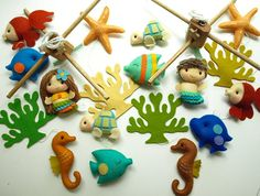 Musical Baby Mobile Mermaid and Under the Sea Fish por GiftsDefine