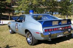 5..............Javelin Alabama State troopers Used in the 1970's