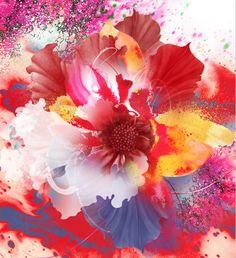 bouquet | artist: kahori maki via inspirefirst