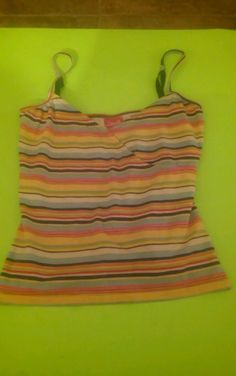 Women's Swell Brand Multi-Color Tank Top Size Small #BrandSwell #Casual #Casual