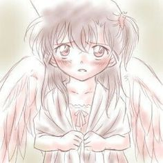 Angel ran mouri #caseclosed