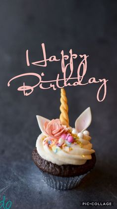 alles-gute-zum-geburtstag-einhorn-cupcake/ delivers online tools that help you to stay in control of your personal information and protect your online privacy. Happy Birthday To You, Birthday Wishes For Daughter, Birthday Wishes Cake, Happy Birthday Cupcakes, Happy Birthday Celebration, Happy Birthday Wishes Quotes, Happy Birthday Pictures, Birthday Blessings, Happy Birthday Greetings