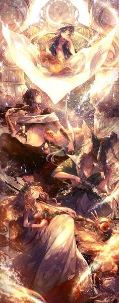 Magi- The labyrinth of magic | magis