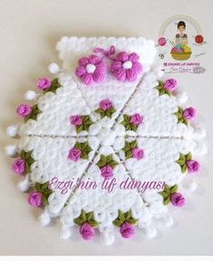 Likes, 48 Comments - Muh Crochet Flower Hat, Crochet Flower Patterns, Diy Embroidery Patterns, Knitting Patterns, Diy Crafts Crochet, Crochet Projects, Quick Crochet, Crochet Humor, Crochet For Beginners