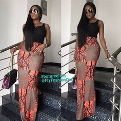 The trendy Ankara styles for the ladies this ember month season African Print Dresses, African Fashion Dresses, African Dress, Fashion Outfits, African Prints, Fashion Fashion, African Fashion Designers, African Inspired Fashion, African Print Fashion