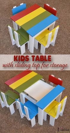 Kids Table Chairs Set www.bobbiejosonestopshop.com ...