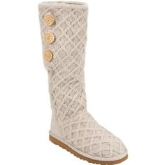 UGG Lattice Cardy Womens Boots.  $156.75 - $160.00            Ugg Lattice Cardy boots. Composed of a wool blend and a sheepskin sock liner for extra comfort. A light and flexible outsole along with a suede heel guard provides durable wear all season long. Three oversized wood buttons, allowing to be styled up and buttoned, slouched a...