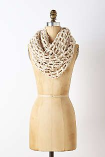 Anthropologie - Open Weave Infinity Scarf