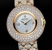 Rolex Cellini Orchid Yellow Gold Ladies Watch