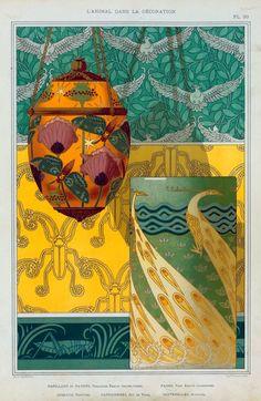 """design-is-fine: """" Maurice Pillard Verneuil, L'animal dans la décoration, 1897. Paris. NYPL """""""