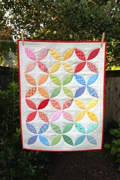 PLEASANT HOME: Orange Peel Quilt Along Try in full size quilt...scrappy