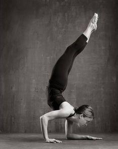 forearm stand variation #yoga