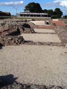 Wroxeter Roman City - market stall area