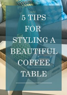 Your coffee table is the most versatile table in your home, and it's also the first thing you see when you walk into your living room. Its adaptable nature leaves the door wide open for styling possibilities. From eye catching books to swanky drink coasters, check out eBay to find your perfect style.