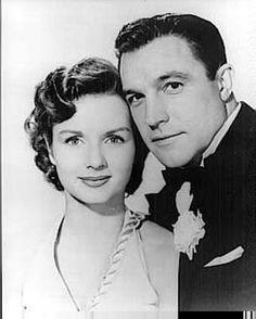 Gene Kelly and Debbie Reynolds in Singing in the Rain.