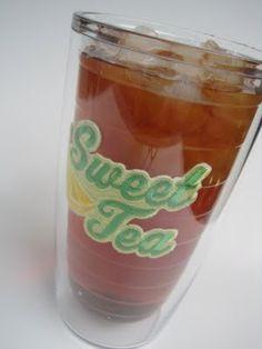 Ice Tea in Tervis Tumblers!