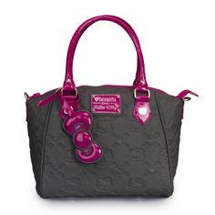 b1272598e2ac Hello Kitty Grey Purple Embossed Bag - Hello Kitty - Brands Hello Kitty  Handbags