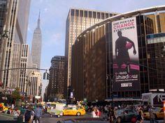 Madison Square Garden & Empire State Building เมดิสัน สแควร์ การ์เดน